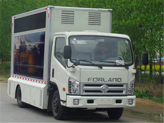 福田LED广告宣传车,舞台车|LED广告宣传车