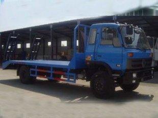 东风153挖机运输车,平板运输车