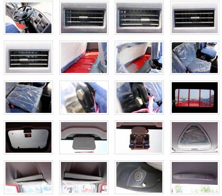 解放赛龙10版平板运输车内饰图