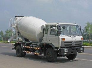东风153混凝土搅拌车(5-6立方)
