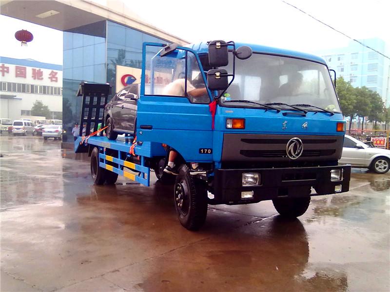 东风145叉车运输车