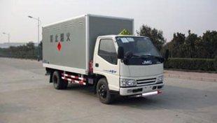 江铃1吨民爆品专用厢式运输车,爆破器材运输车