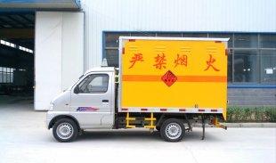 东风俊风汽油爆破器材运输车,爆破器材运输车