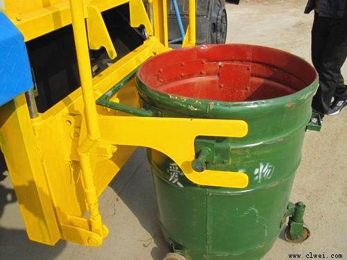 挂桶式垃圾车提升机构