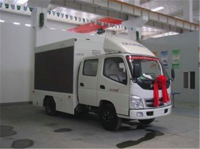 福田奥铃双排LED广告车,舞台车|LED广告宣传车