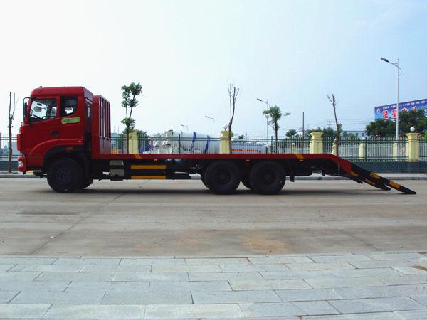 玉柴290马力平板运输车