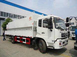 载货式散装饲料车,散装饲料运输车