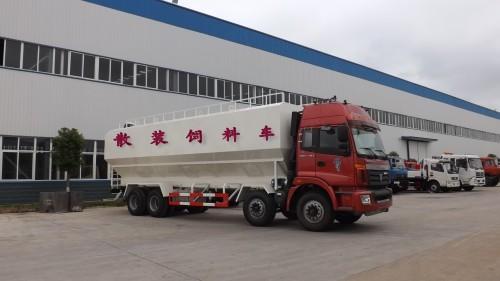 15吨散装饲料运输车图片
