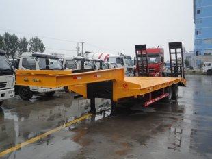 双桥半挂低平板拖车,平板运输车