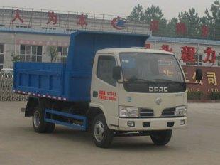 东风福瑞卡自卸式垃圾车