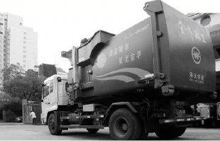 酷似装甲车的环卫垃圾车现身浙江金华