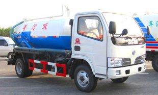 东风福瑞卡吸污车(3吨)