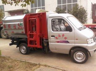 东风俊风挂桶垃圾车