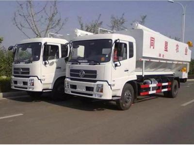 同星农业向我公司订购的二辆散装饲料运输车