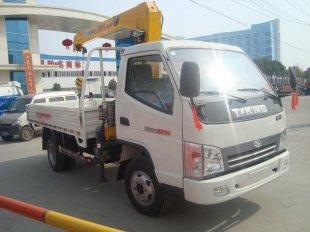 唐骏欧铃2吨随车起重运输车(随车吊)