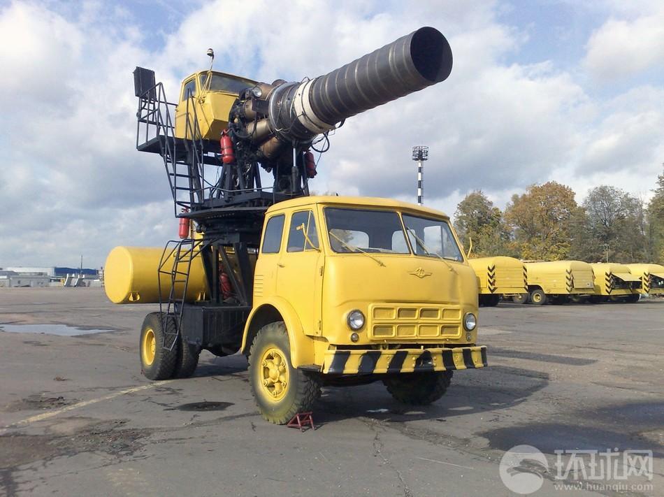 俄罗斯除雪神器!