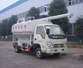 福田时代散装饲料运输车,散装饲料运输车
