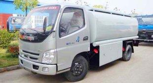 福田奥铃5吨加油车(5.4立方),油罐车|加油车