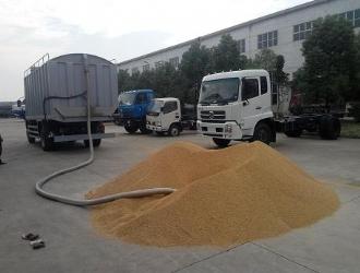 自吸自卸式粮食运输车