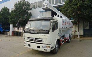 东风多利卡8吨国四散装饲料运输车,散装饲料运输车