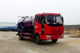 解放J6吸污车(8吨)(国四)