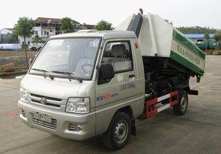 福田驭菱3方车厢可卸式垃圾车
