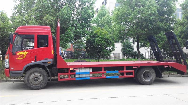 解放赛龙国四平板运输车