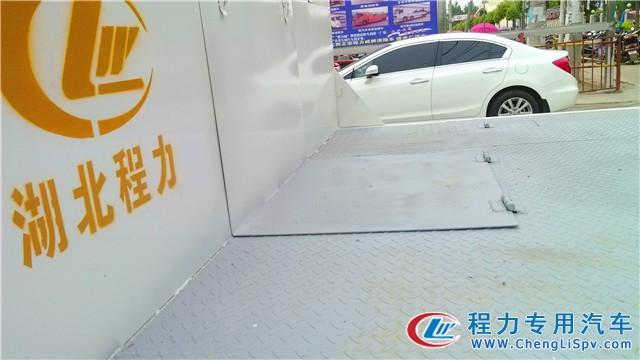 东风劲勇平板运输车
