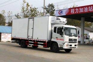 东风天锦7.4米冷藏车(国四),冷藏车