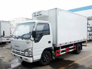 庆铃五十铃100P冷藏车(国四)