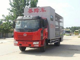 解放J6单桥养蜂车(带房)