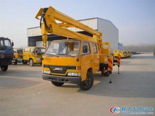 江铃双排12米、14米、16米高空作业车(国四双排)