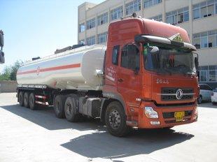 东风天龙42方硫酸化工液体运输车