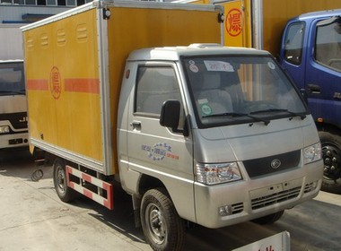 福田驭铃0.8吨爆破器材运输车
