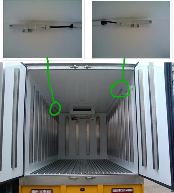 国四冷藏车
