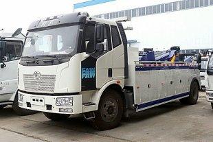解放J6拖吊型清障车(10吨)