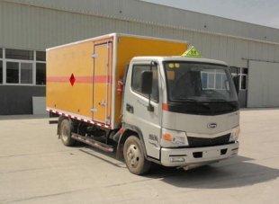 开瑞爆破器材运输车(黄牌),爆破器材运输车