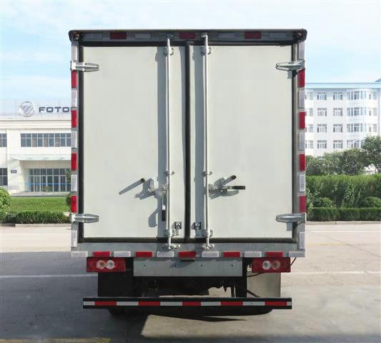 国五冷藏车尾部图片展示