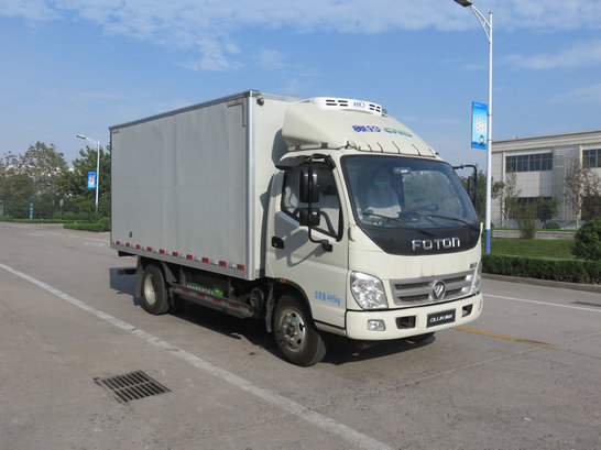 国五福田奥铃冷藏车厢长4.085米图片