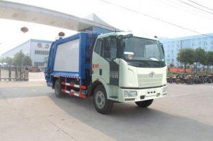 解放J6压缩式垃圾车(12方)