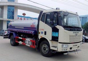 解放J6洒水车(8吨),洒水车