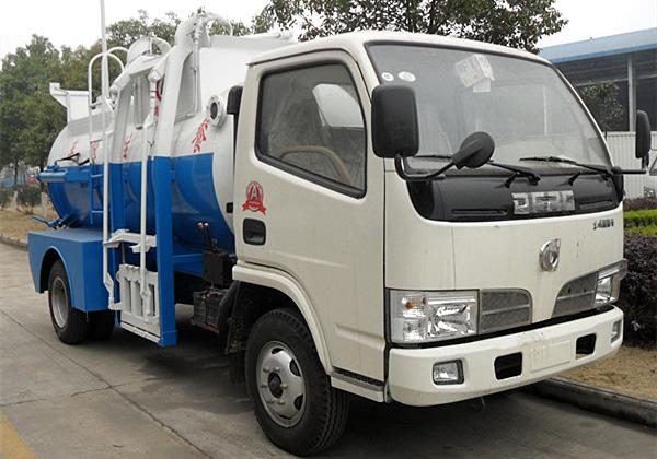 东风福瑞卡5吨餐厨垃圾车/泔水车