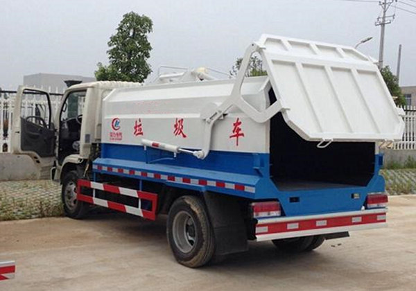 (6方)东风侧装压缩垃圾车