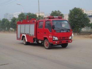 庆铃五十铃3吨水罐消防车(3方)