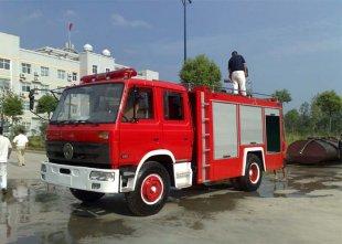 东风153水罐消防车(7吨),消防车