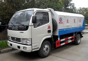 东风小多利卡密封自卸式垃圾车(4方)