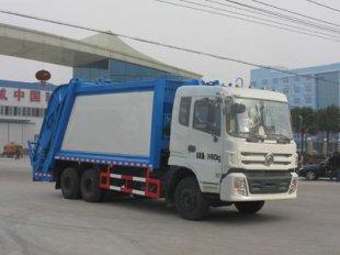 东风后八轮压缩式垃圾车(18方)