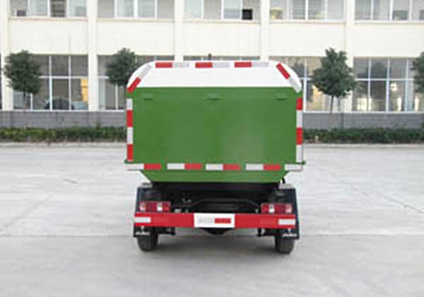 (3方汽油)金杯小型自卸密封式垃圾车