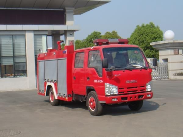 庆铃2吨小功率水罐消防车