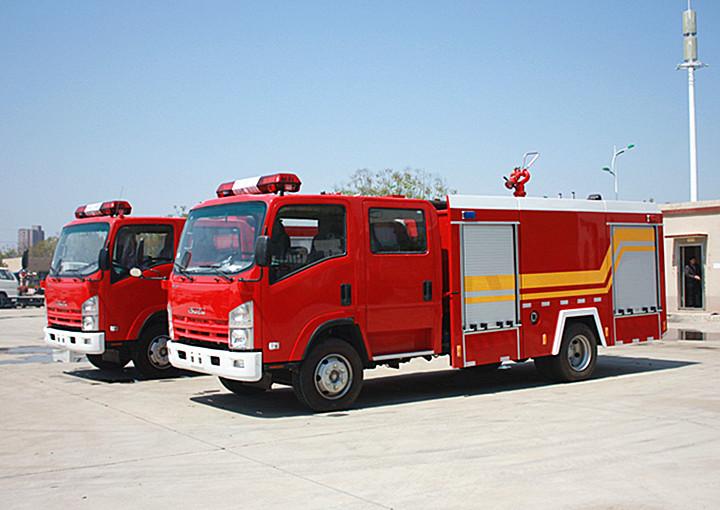五十铃消防车 3吨五十铃消防车 国四3吨消防车